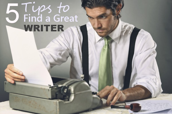 Handsome writer focused on his letter . Retro style