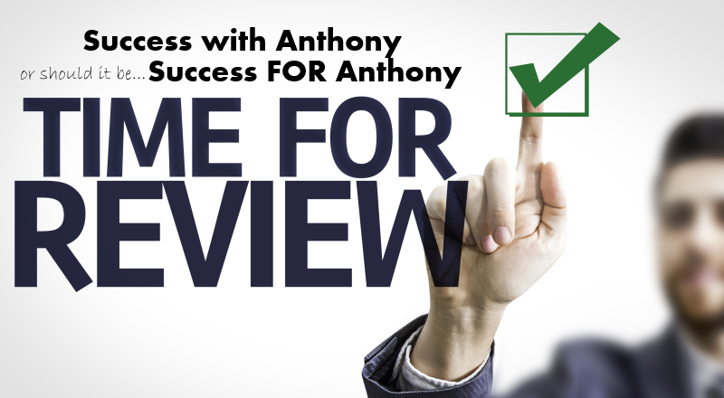 Success with Anthony Review