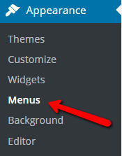 Wordpress_menu