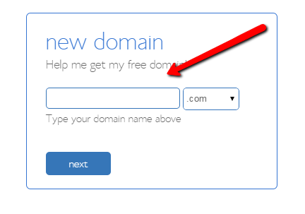 bluehost_pick_domain
