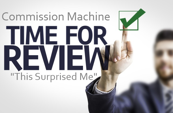 Commission Machine Review – Is It a Keeper or For the Sweeper?