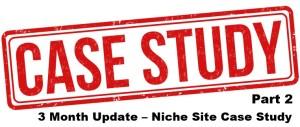 3 Month Update – Niche Site Case Study Part 2