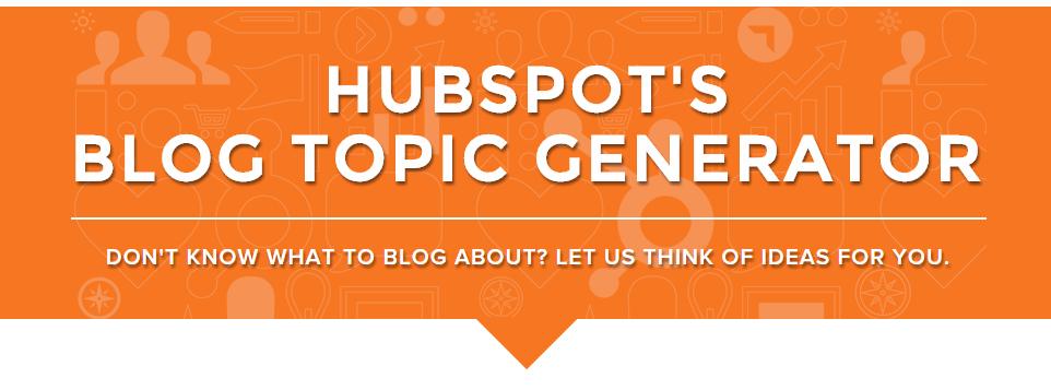 hubspots_blog_topic_generator