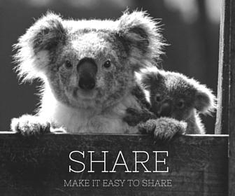 make it easy to share