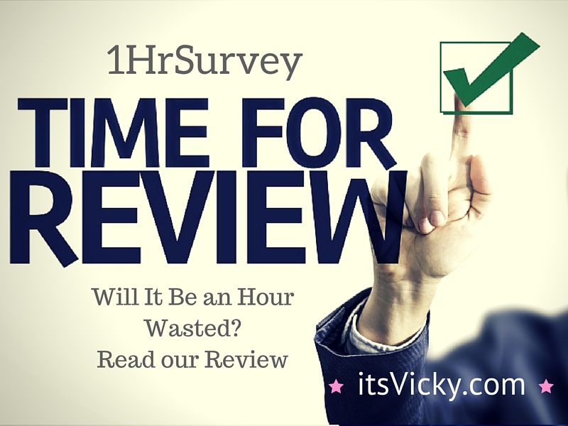 2016 – 1HrSurvey, Is It an Hour Wasted? We Review the Program!