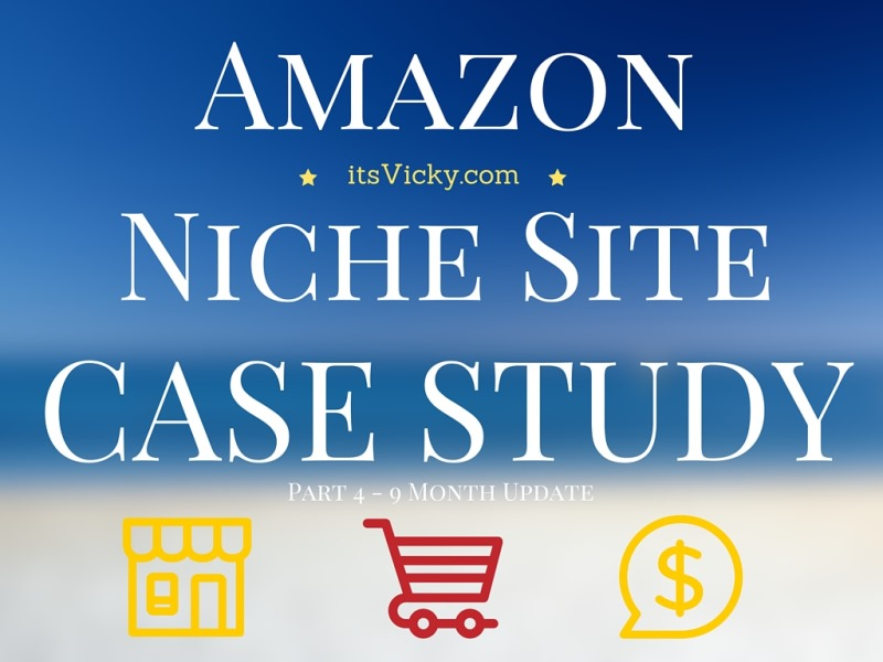Amazon Niche Case Study, 9 Month Update