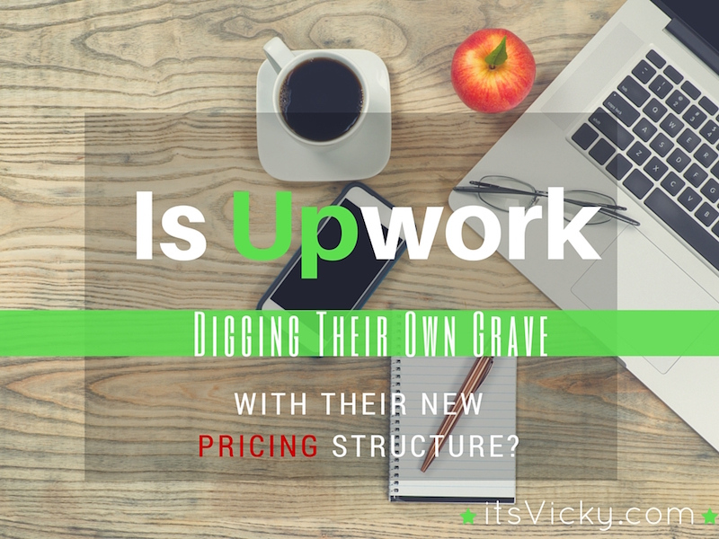 is upwork digging their own grave pricing structure