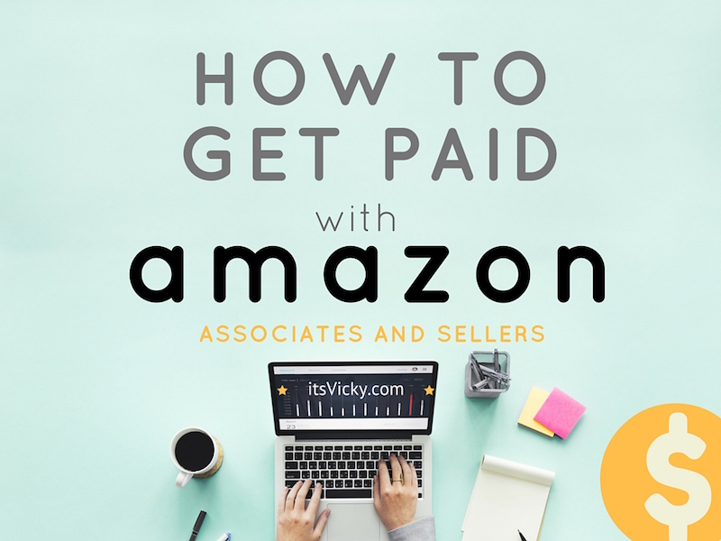 how to get paid with amazon
