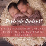 5 Free Plagiarism Checker Tools to Use Instead of CopyScape