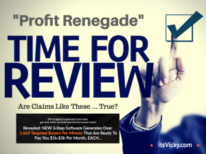 Profit Renegade Review – Profit or Empty Pockets?