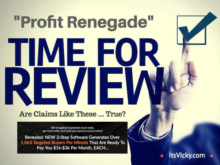 Profit Renegade Review – Profit or Empty Pockets?