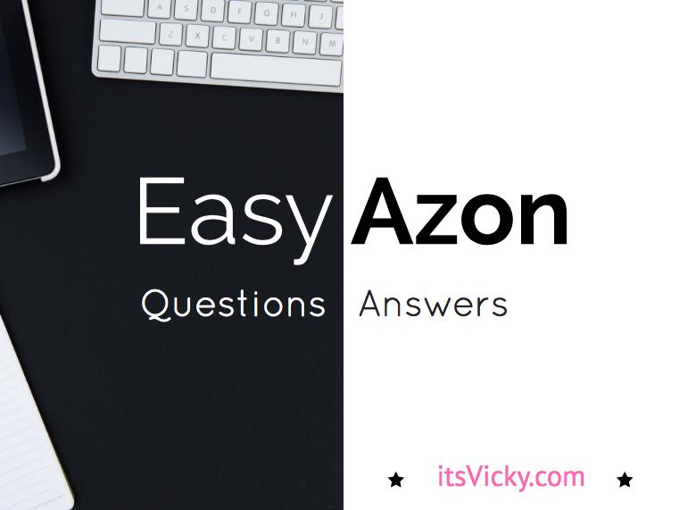 EasyAzon Q&A