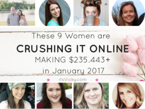 These 9 Women are Crushing It Online Making a Total of $235.443in January 2017