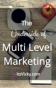 The Underside of Multi-Level Marketing