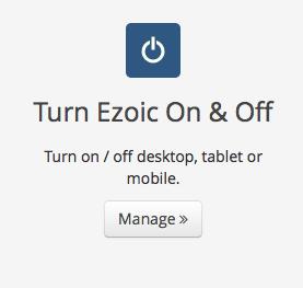 turn on off