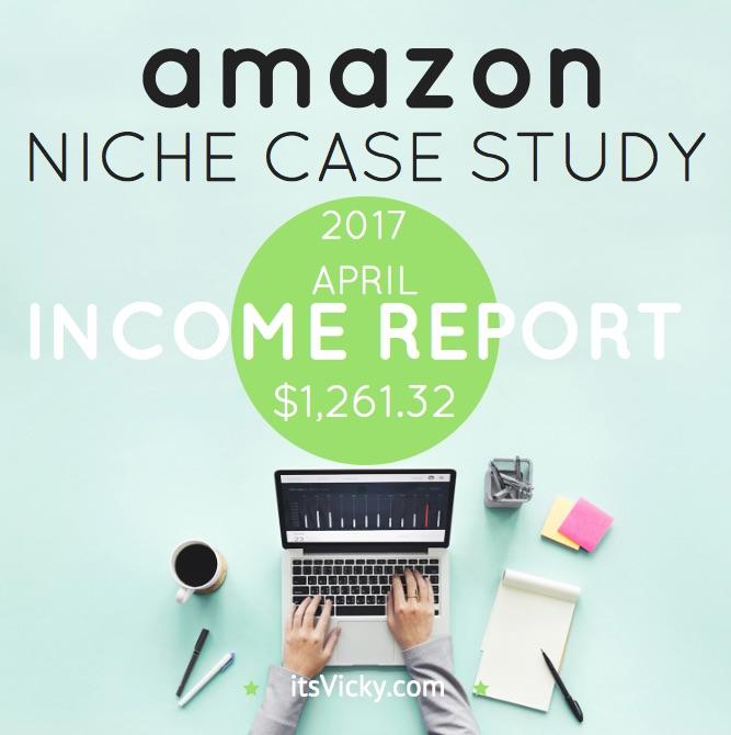 Amazon Associate Income Report for April 2017