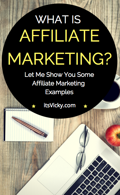 affiliate marketing how does it work