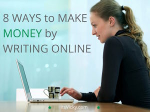 8 Ways to Make Money by Writing Online