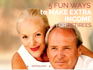 5 Fun Ways to Make Extra Income for Retirees