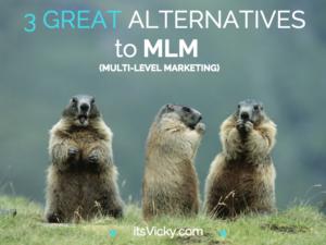 3 Great Alternatives to MLM (Multi-Level Marketing)
