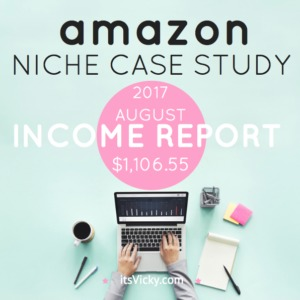 Case Study – Amazon Associate Income Report August 2017