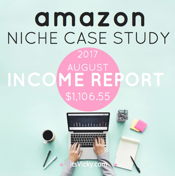 Case Study – Amazon Associate Income Report August 2017