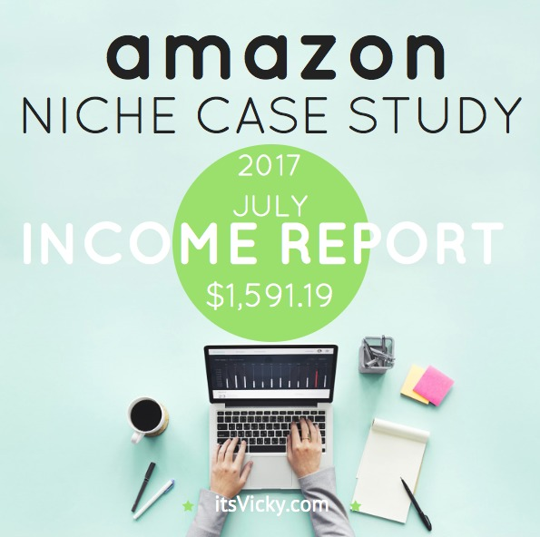 Case Study – Amazon Associate Income Report July 2017