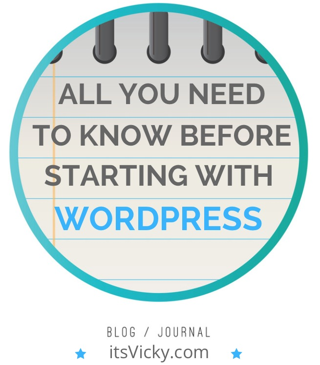 All You Need to Know Before Starting with WordPress