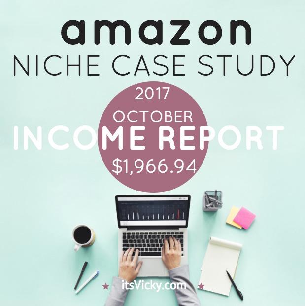 Case Study – Amazon Associate Income Report October 2017