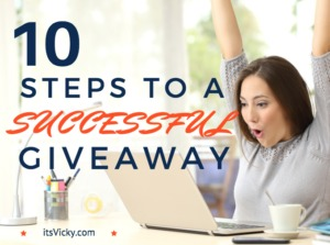 10 Steps to a Successful Giveaway