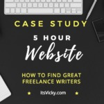 5 Hour Website – How to Find Freelance Writers for Your Website